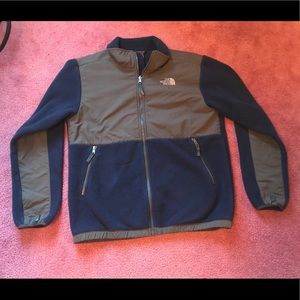 Navy North Face Fleece Jacket